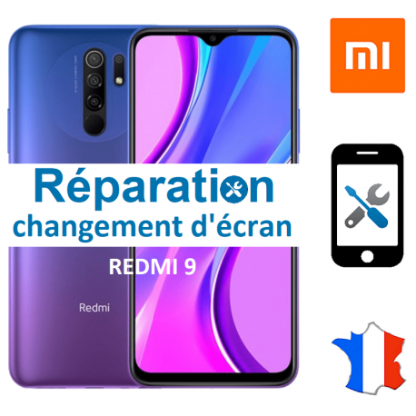 Réparation Redmi 9 - Changement d'écran