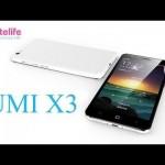UMi X3 prise en main