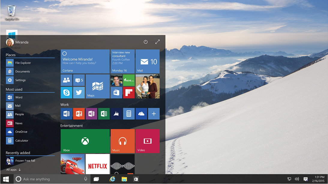 Microsoft et Xiaomi partenaires pour Windows 10 !