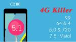 Bluboo C100 : 64 bits et Android 5.1 Lollipop ?