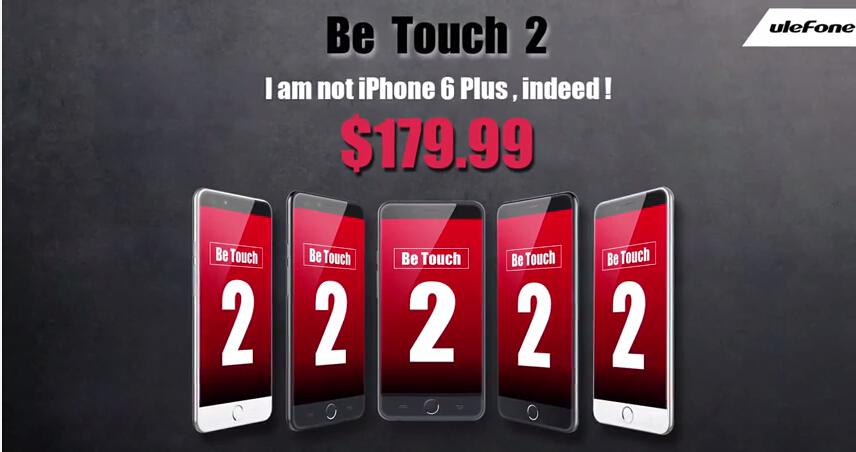 Ulefone Be Touch 2 annoncé : De qui se moque Ulefone ?