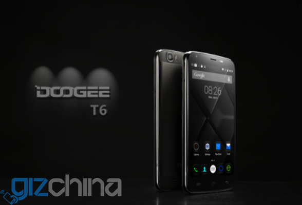 Doogee T6 : téléphone avec une énorme batterie