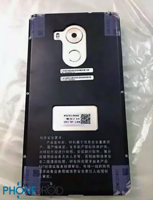 Huawei Mate 8 : fuites de photo
