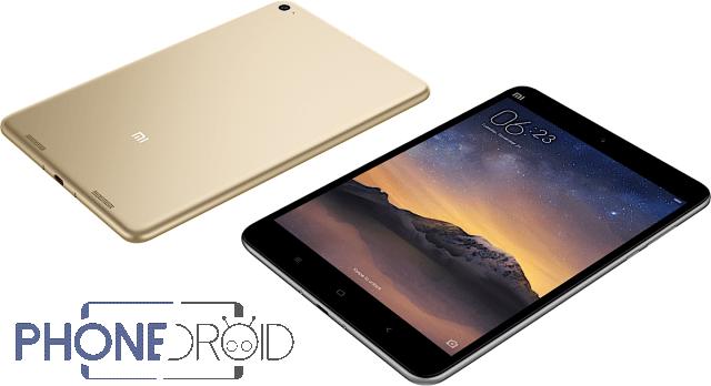 Xiaomi Mi Pad 2 lancée : Android et Windows 10