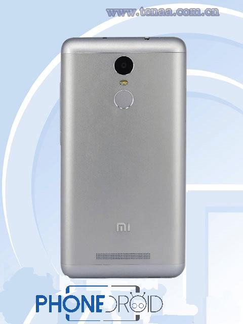 Xiaomi Redmi Note 2 Pro : trouvé sur la TENAA ?