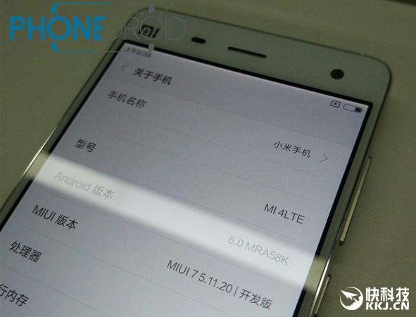Android 6 : bientôt sur les Xiaomi Mi4, Mi3 et MiNote