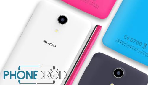 Zopo Color S5.5 : annonce officielle