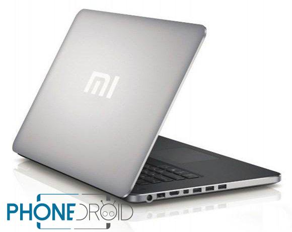 Xiaomi : Prétendues spécifications du fameux laptop
