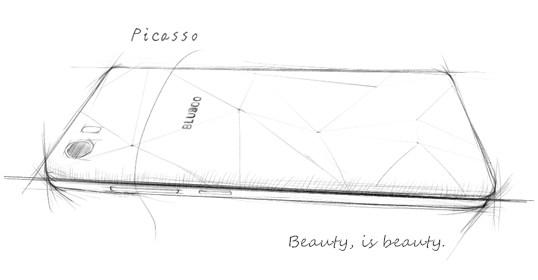 Bluboo Picasso : Nom de code du prochain modèle ?