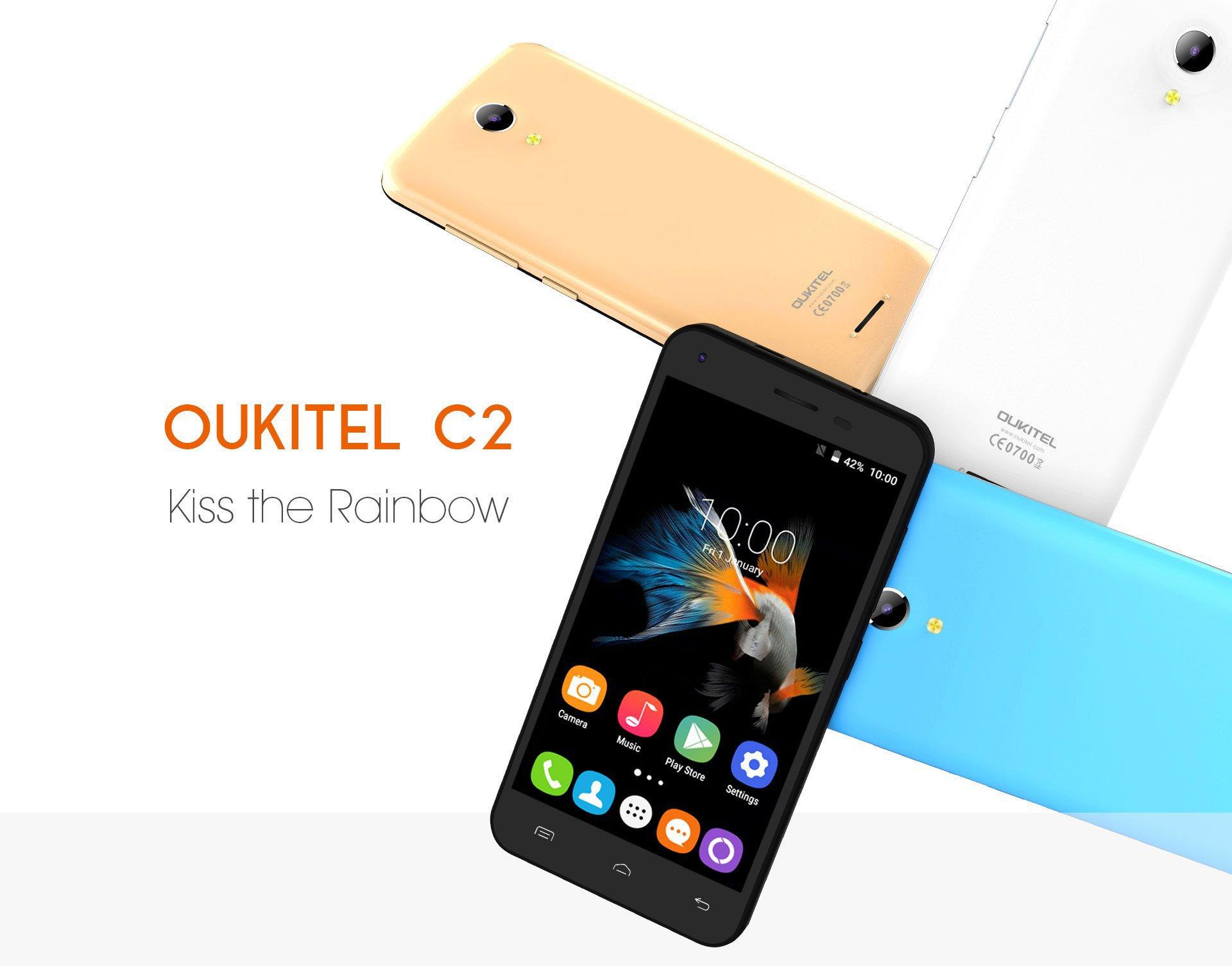 Oukitel C2 : le téléphone abordable