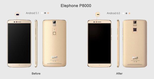 Elephone P8000 : des nouveautés à venir
