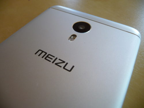 Appareil photo principal du Meizu M3 Note