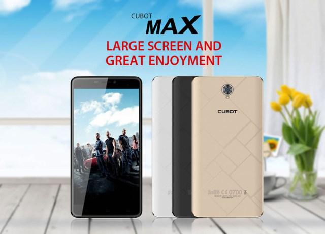 Cubot Max pour un max de jeux et vidéos