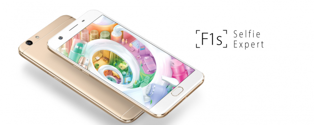 Oppo F1s officiel : nouveau king des selfies phones ?