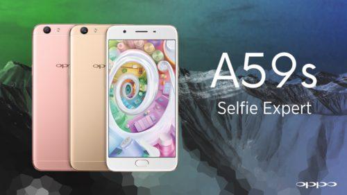 Oppo A59S: Un nouveau pro du selfie!