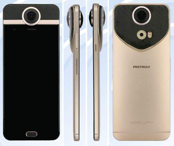 Protruly D7 et D8, premiers smartphones filmant à 360° !