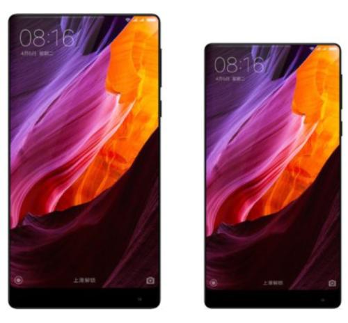 Xiaomi Mi Mix nano en aproche