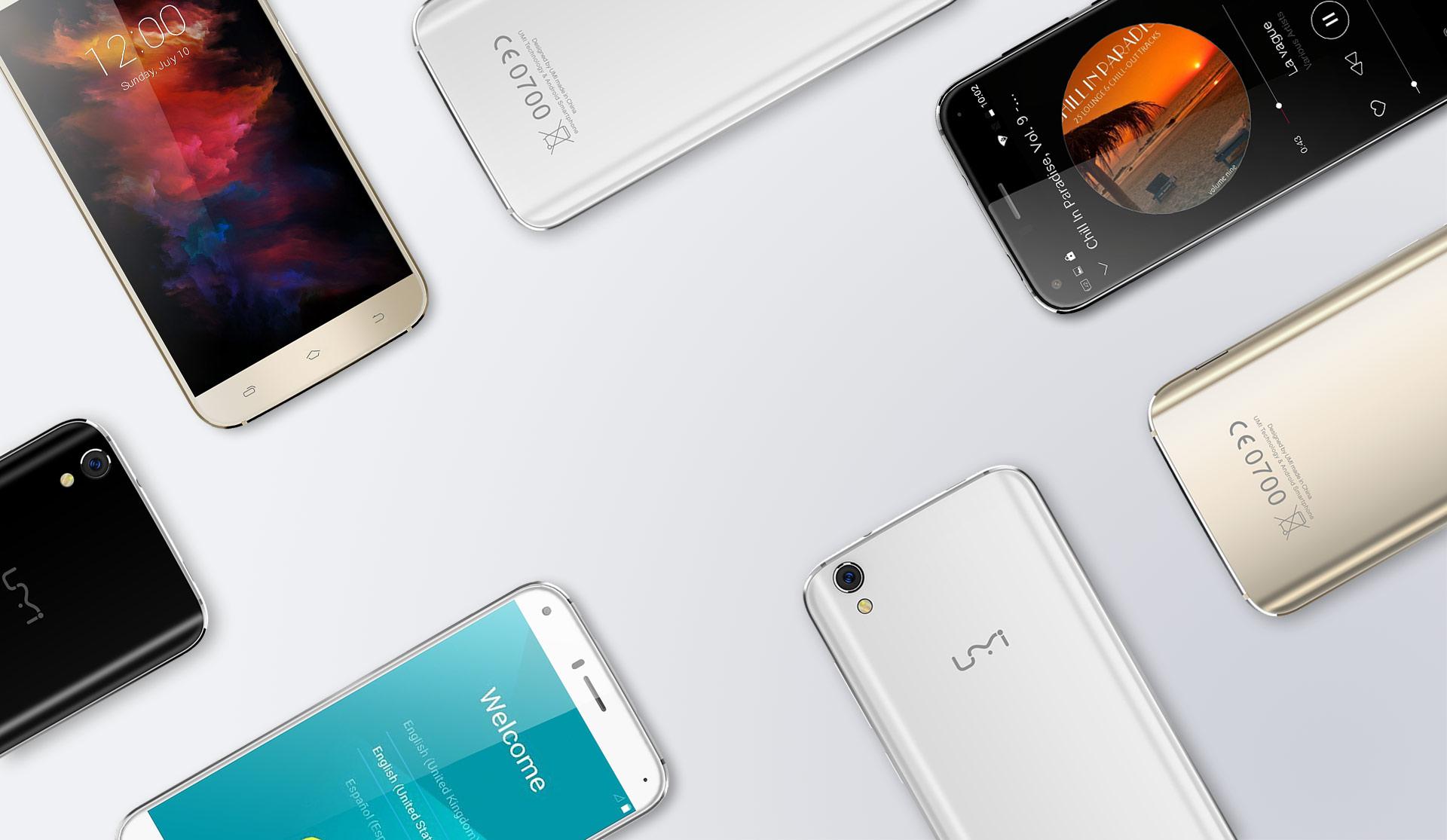UMI Diamond et Diamond X : des smartphones renforcés et élégants