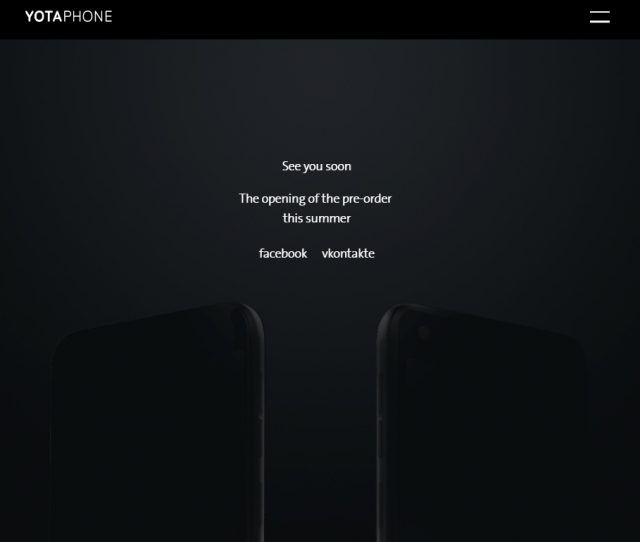 Yotaphone 3 : nouveau teaser annonçant les précommandes