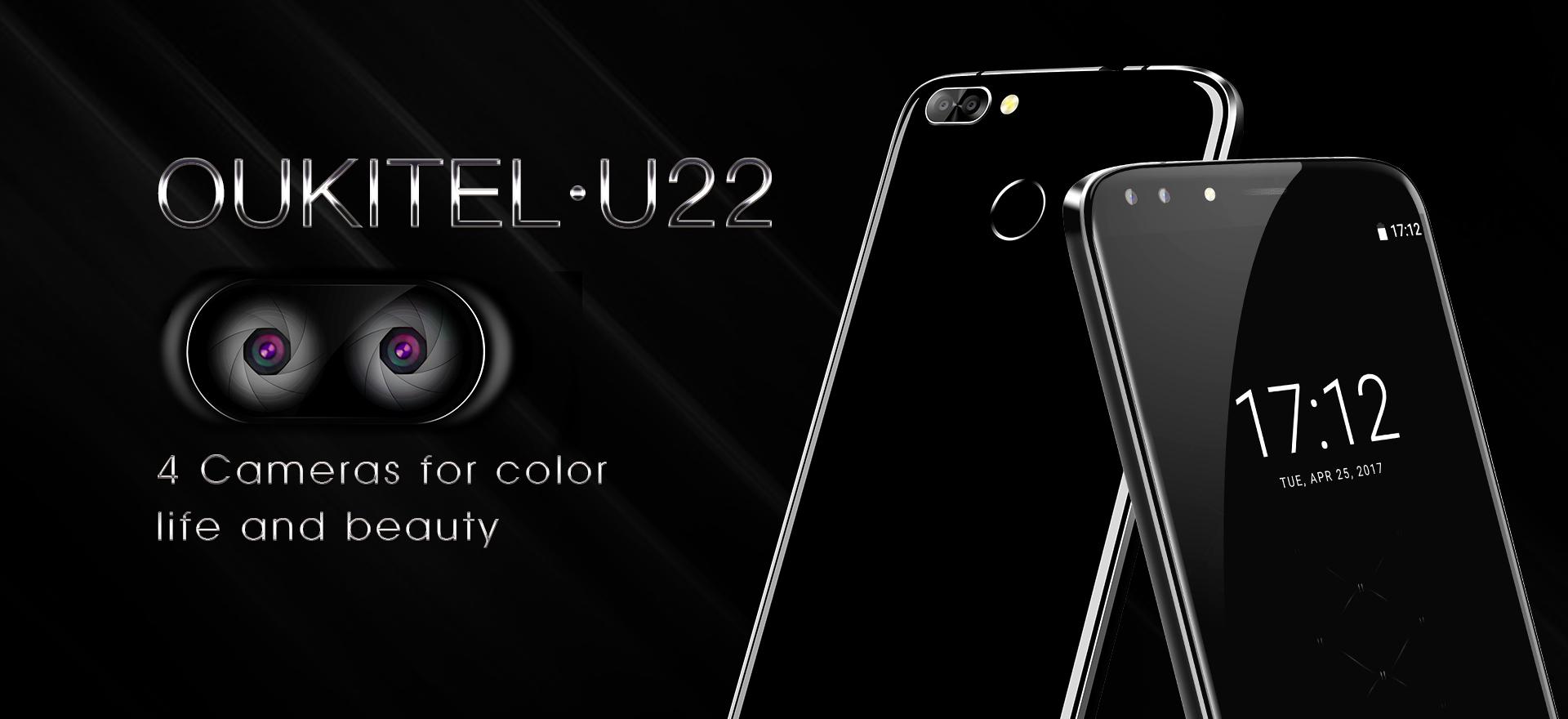 Oukitel U22 : 1er smartphone avec 4 caméras !
