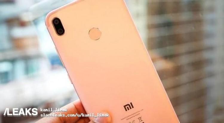 Xiaomi Mi 6X : un prototype en fuite !